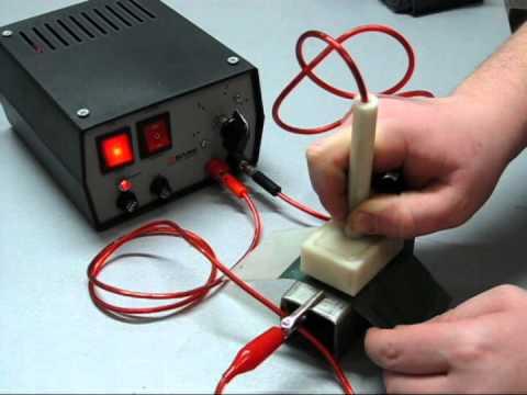 Электрохимическое травление металлов своими руками